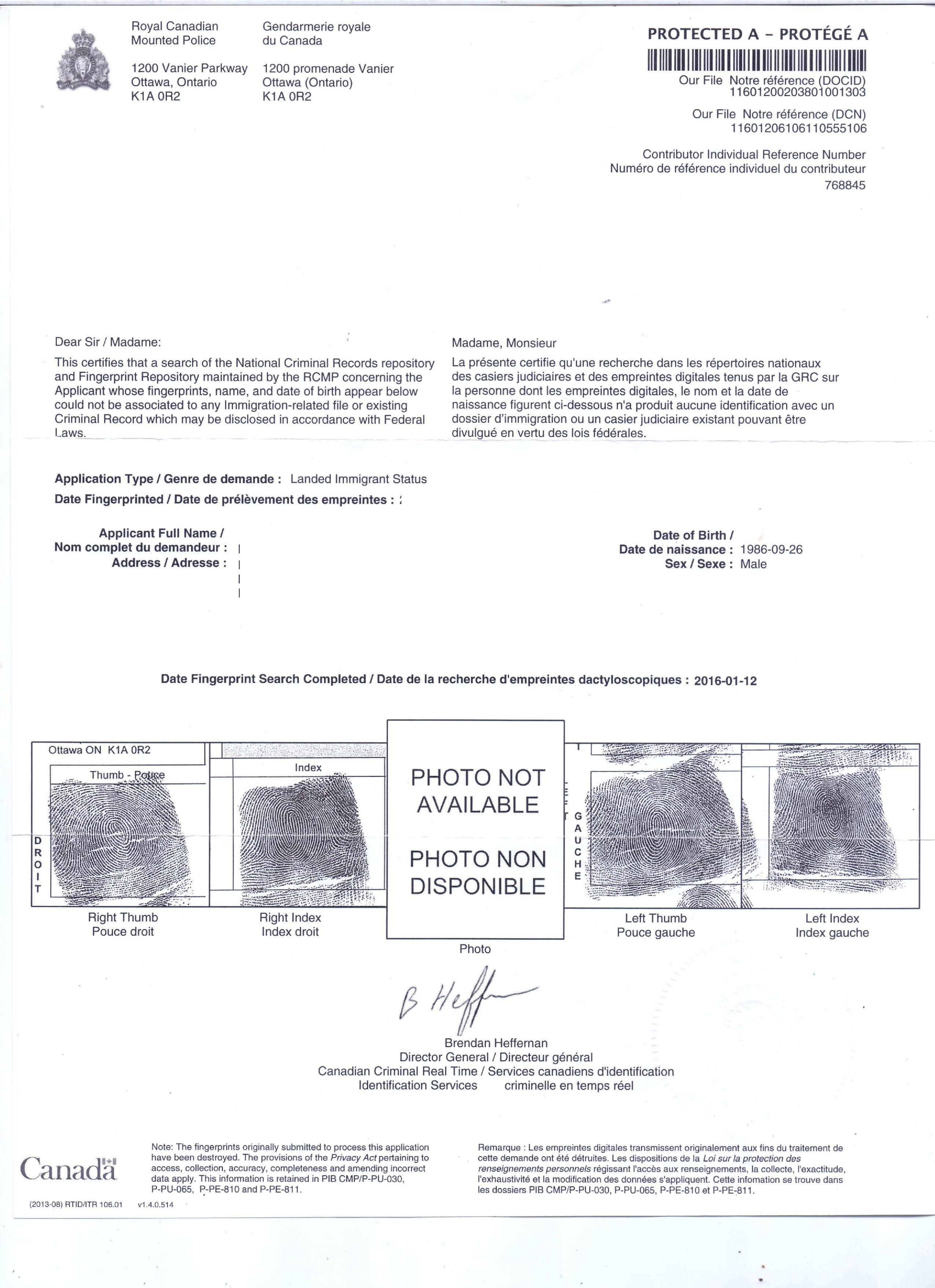 Police clearance certificate canada rcmp delhi mumbai ahemdabad pcc from rcmp delhi xflitez Image collections